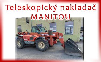 Teleskopický nakladač MANITOU