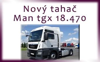 Nový ťahač MAN tgx 18.470